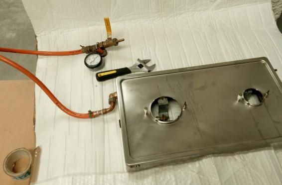 Reparacion gas