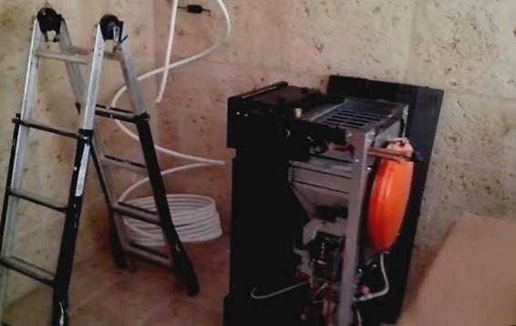 Instalación Gas Pellet