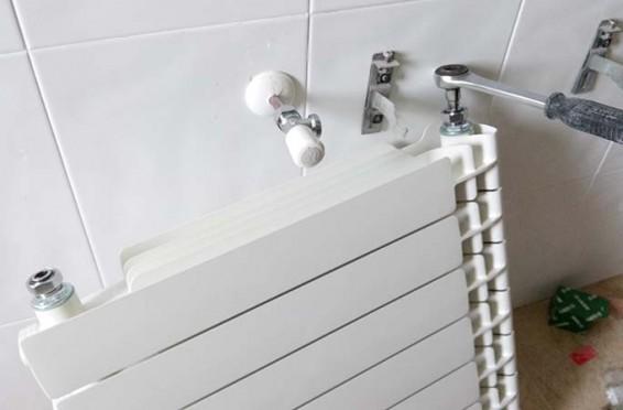 Calefacci n instalaci n de radiadores aluminio ferroli - Radiadores de aluminio para calefaccion ...