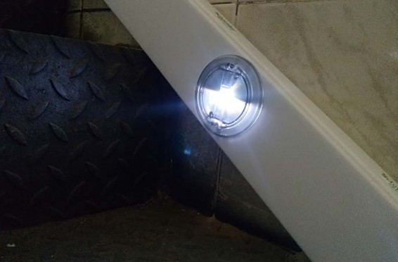 Balizas Led de escalera