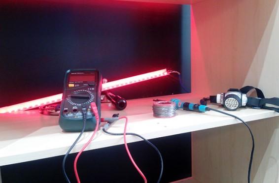Instalación tiras Led RGB