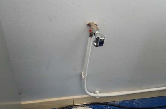 Instalación de grifo