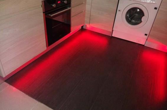 Led RGB en cocina